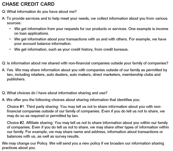 credit cards | I'm Not Actually a Geek