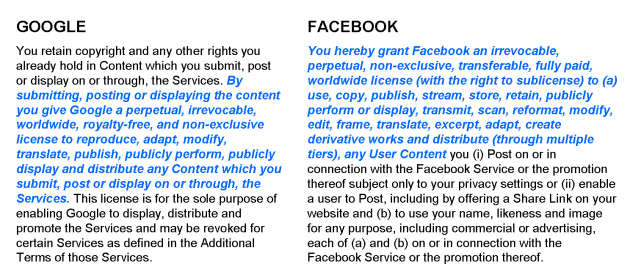 google-facebook-tos-comparison