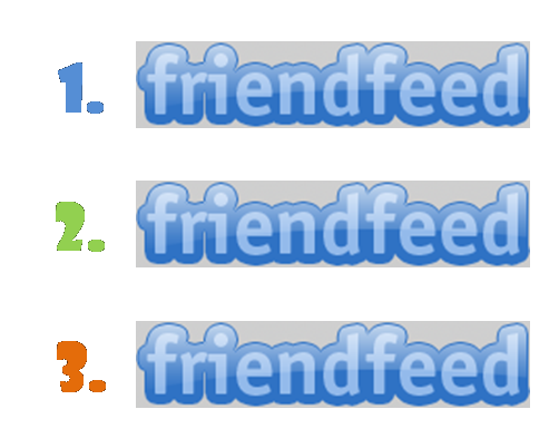 FriendFeed Triple Play