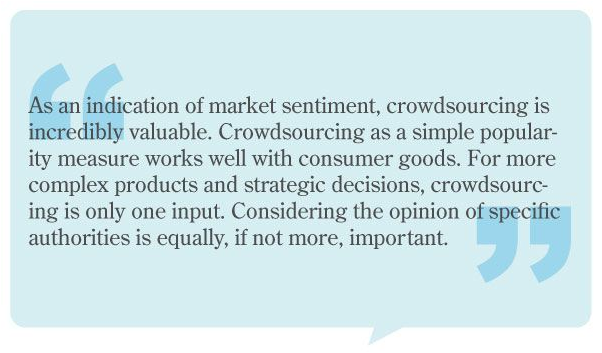 BusinessWeek quote on crowdsourcing