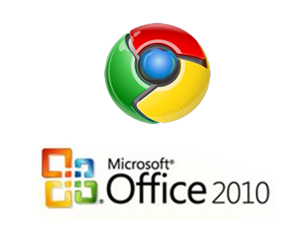 Google Chrome OS and Microsoft Office 2010
